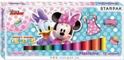 Starpak Plastelina Minie 12 kolorów (346814)