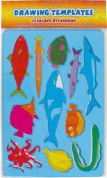 Starpak Szablon plastikowy Ryby (5907604600924)