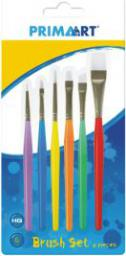 Starpak Pędzle kolorowe kpl6szt PRIMA ART blister (323149)