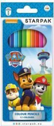 Starpak Kredki ołówkowe Psi Patrol (352911)