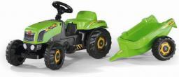 Rolly Toys Traktor Rolly Kid zielony z przyczepą (5012169)