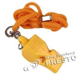 Spokey Gwizdek plastikowy żółty - 83605