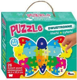 Morex Puzzle dwustronne Motyl