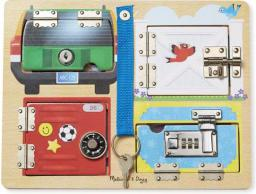 Melissa & Doug Lock and Latch Board (19540)