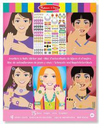 Melissa & Doug Jewellery & Nails Sticker Pad - 14223