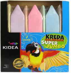 Derform Kreda kolorowa Super Jumbo (DERF.KRSJ7KA)