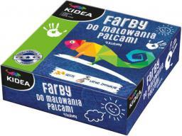 Derform Farby do malowania palcami KIDEA - (DERF.FDP4KA)