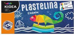 Derform Plastelina 12 kolorów  (DERF.P12KKA)
