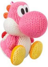 Figurka Yoshi's Woolly World Collection różowy Woll-Yoshi (WiiU/3DS) (1071866)