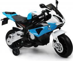 LEANToys Motor na akumulator BMW S1000RR Niebieski