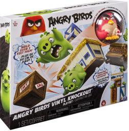 Spin Master Angry Birds - Vinylowy zestaw Angry Nokaut (6027801)