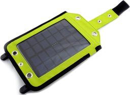 PowerNeed Solarna 2.5W z power bankiem 3000mAh Li-Poly, zielona (SC30G)