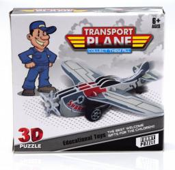 Moneks Samoloty do złożenia samolot 3D z napędem pullback