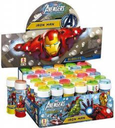 Mondo Bańki mydlane 60ml Avengers + gra Bubbles