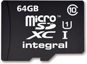 Karta Integral Ultima Pro MicroSDXC 64 GB Class 10 UHS-I/U1  (T_0014201)