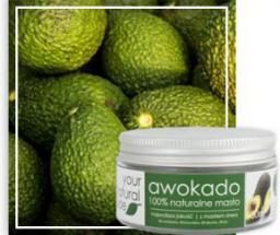 Your Natural Side awokado (masło; olej awokado, olej palmowy) 100ml