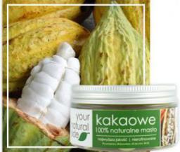 Your Natural Side kakaowe (masło, nierafinowane) 50g