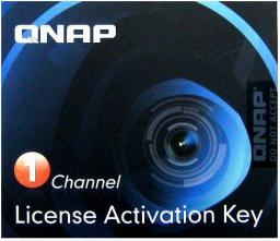 Qnap LIC-CAM-NAS-1CH Camera License Pack 1