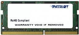 Pamięć do laptopa Patriot Signature Line SODIMM DDR4,  4GB,  2133MHz,  CL15  (PSD44G213381S)