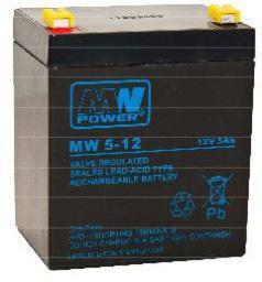 MPL Power Akumulator 12V 5Ah (MW 5-12L)