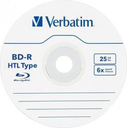 Verbatim 1x5 BD-R Blu-Ray 25GB 6x Speed Datalife No-ID Jewel (43836)