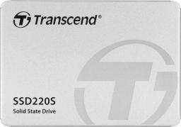 Dysk SSD Transcend 220S 120GB SATA3 (TS120GSSD220S)