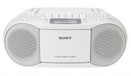 Radioodtwarzacz Sony CF-DS70W biały