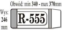 IKS Okładka książkowa reg.R-555 IKS p50 - IKS R555