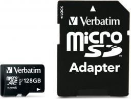 Karta Verbatim MicroSDXC 128 GB Class 10 UHS-I/U1  (44085)
