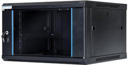 """Szafa DigitalBOX wisząca  6U rack 19"""",  600x450mm, czarny (STLWMC-6U-645-GSB)"""