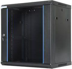 """Szafa DigitalBOX 12U rack 19"""",   600x450mm, czarna (STLWMC-12U-645-GSB)"""