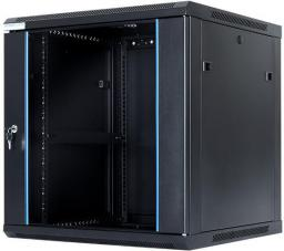 "Szafa DigitalBOX 12U rack 19"", 600x600mm, czarna (STLWMC-12U-66-GSB)"
