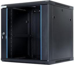 """Szafa DigitalBOX 12U rack 19"""",  600x600mm, czarna  (STLWMC-12U-66-GSB)"""