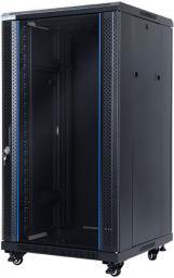 """Szafa DigitalBOX wolnostojąca 22U rack 19"""",  600x600mm, czarny (STLFSC-22U-66-GSB)"""