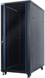 """Szafa DigitalBOX wolnostojąca  27U rack 19"""",  600x1000mm, czarna  (STLFSC-27U-610-GSB)"""