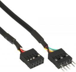 InLine Kabel wewnętrzny przedłużacz do HD audio oraz AC97 0.4m (19995D)