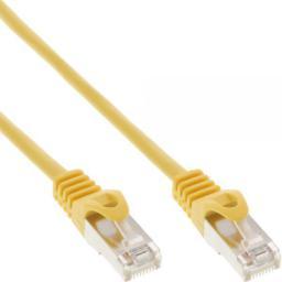 InLine Patchcord F/UTP,  Cat.5e,   żółty,  3m (71503Y)