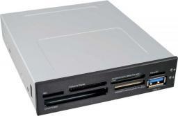 """Czytnik InLine Panel przedni 3.5"""" z czytnikiem kart i portem USB 3.0 (33394E)"""
