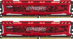 Pamięć Ballistix Ballistix Sport LT, DDR4, 8 GB,2400MHz, CL16 (BLS2C4G4D240FSE)