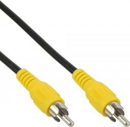 Kabel InLine RCA (Cinch) - RCA (Cinch), 5, Czarny Żółty (89937L)