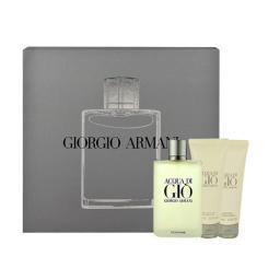 Giorgio Armani Acqua di Gio M 100ml  Edt 100ml + 75ml balsam po goleniu+ 75ml Żel pod prysznic