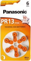 Panasonic Bateria do aparatów słuchowych PR48 6szt.