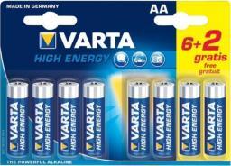 Varta Bateria High Energy AA / R6 8szt.