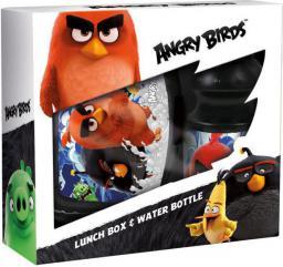 Derform Zestaw śniadaniówka+bidon Angry Birds (DERF.ZSBAB13)
