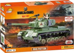 Cobi Small Army WOT czołg M46 PATTON 525el.  (COBI-3008)