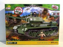 Cobi Small Army T34/85 Czołg sowiecki nowa wersja - COBI-2476