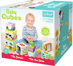 Trefl Baby Cubes Na wsi - Little Planet - (60468)