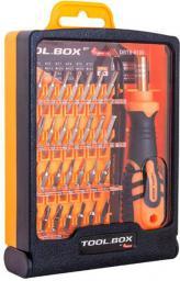 DigitalBOX Zestaw bitów Tool.Box 4mm z rękojeścią (DBTB-8100)