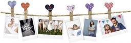 Fujifilm Designerskie klipsy do zdjęć w kształcie serca, 10 sztuk (70100127833)