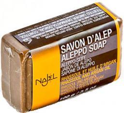 Najel Mydło Aleppo z glinką rhassoul i olejem arganowym 100g